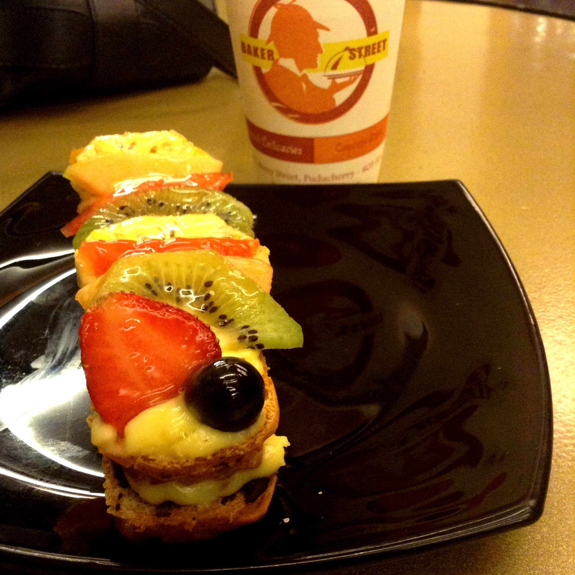 Fruit Eclair at Bakers Street