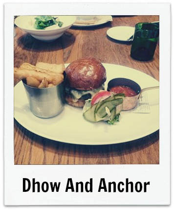 Dhow And Anchor