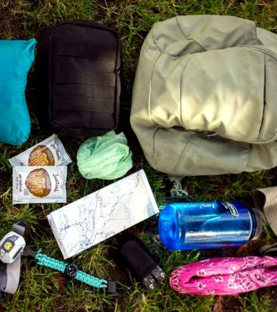 10 Essentials for a camping trip.