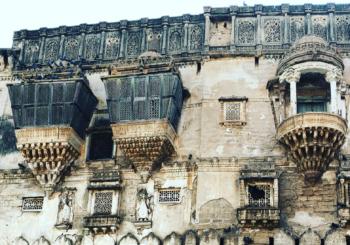 The beautiful palaces of Bhuj.