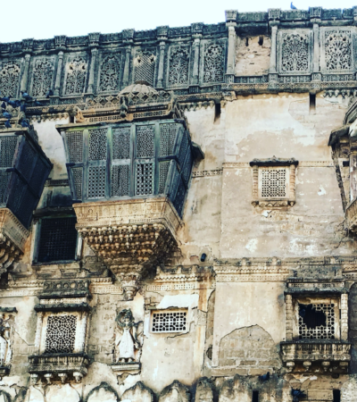 The beautiful palaces of Bhuj.