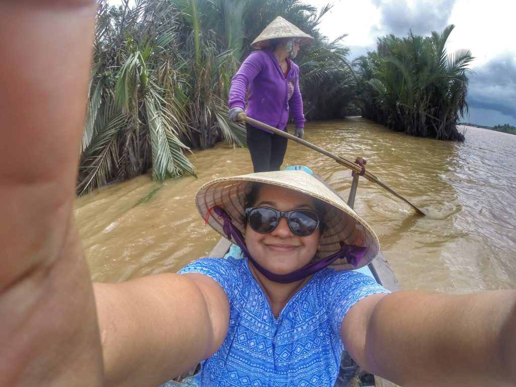 Sailing on the Mekong Delta